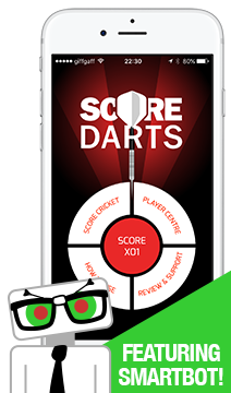 iPhone / iPad Darts Scorer App